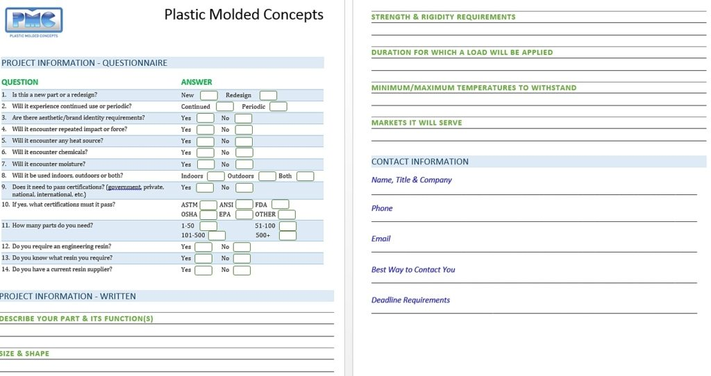 Plastic Injection Molding Design Considerations