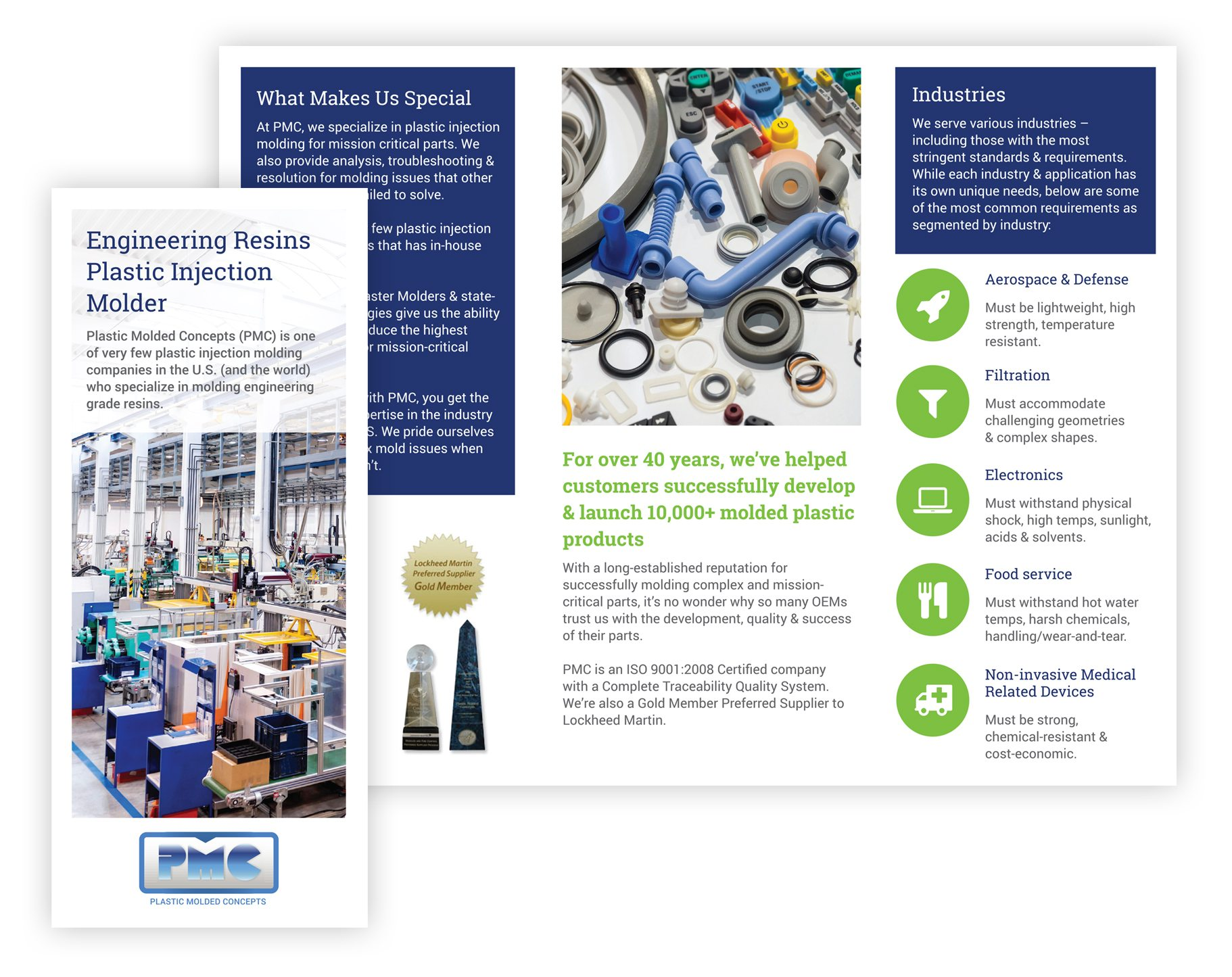 Plastic Injection Molding Company PMC Brochure