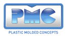 The blue PMC logo.